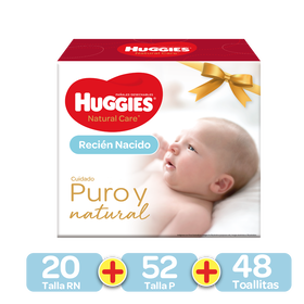 Kit Primeros 100 días Huggies Natural Care
