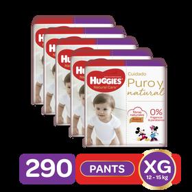 Combo Pants Natural Care Talla XG, 290uds