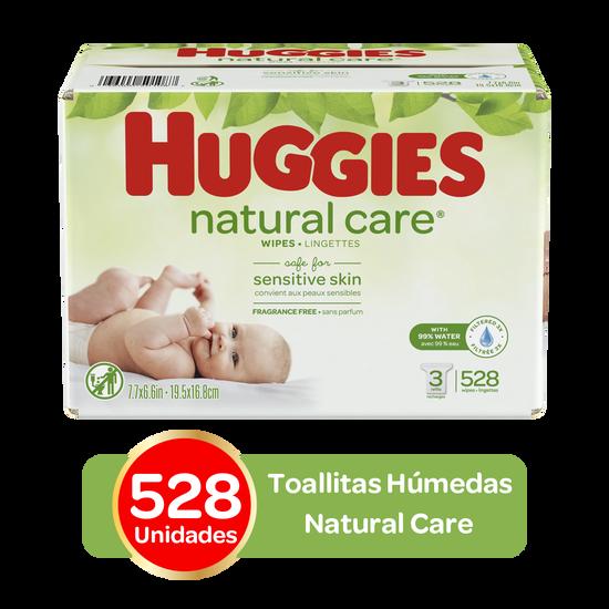 Toallitas Húmedas Huggies Natural Care, 528 uds