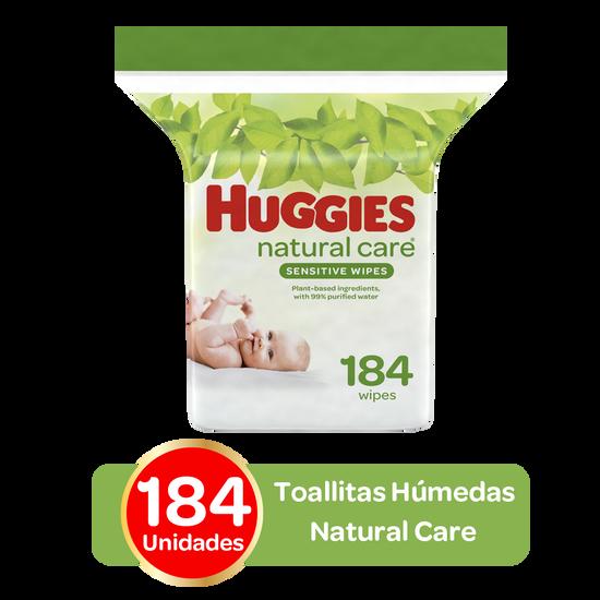 Toallitas Húmedas Huggies Natural Care, 184 uds