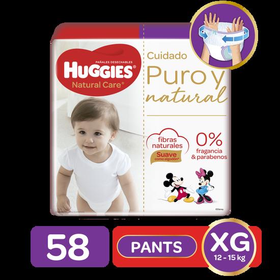 Pants Huggies Natural Care XG, 58uds