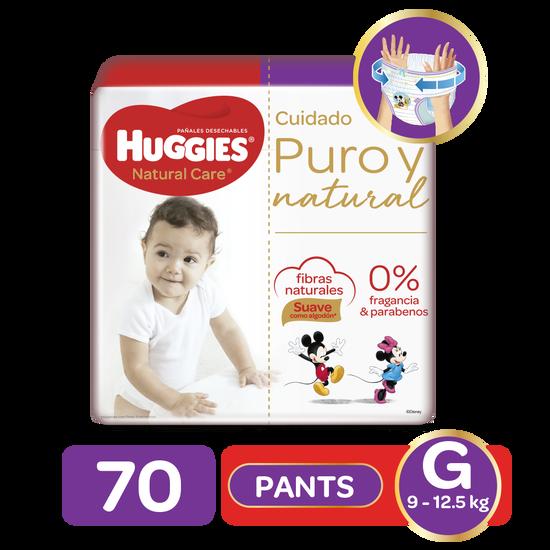 Pants Huggies Natural Care G, 70uds