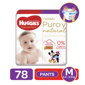 Pants Huggies Natural Care M, 78uds