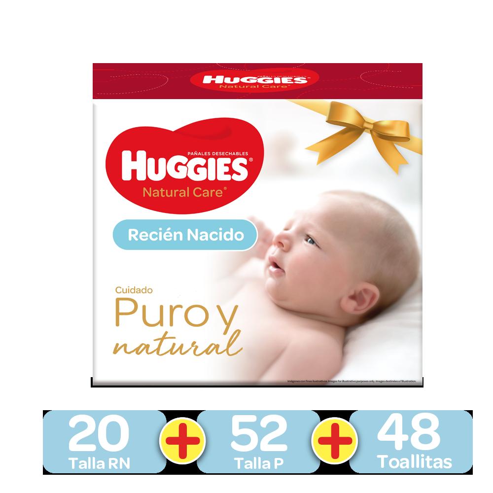 Kit Primeros 100 días Huggies Natural Care